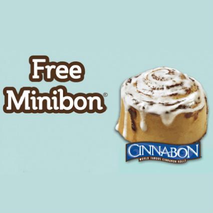Cinnabon : Free Minibon Coupon