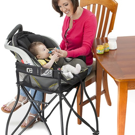 2-in-1 Portable Travel High Chair : $32.99