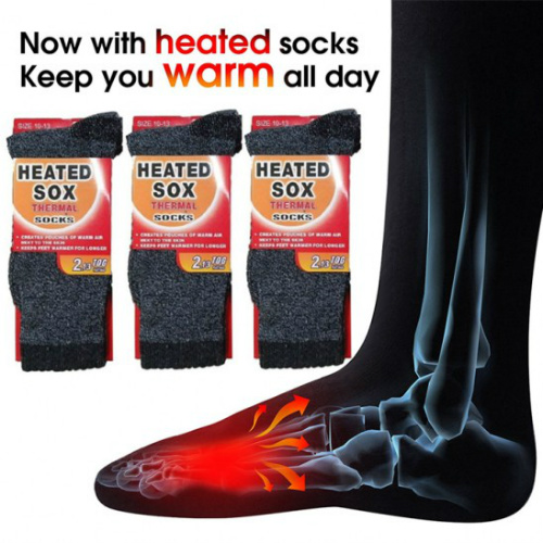 78% off 3-Pairs of Heated Sox : $8.99 + Free S/H