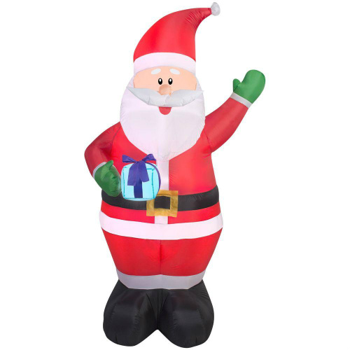 Inflatable Santa : Only $8.74