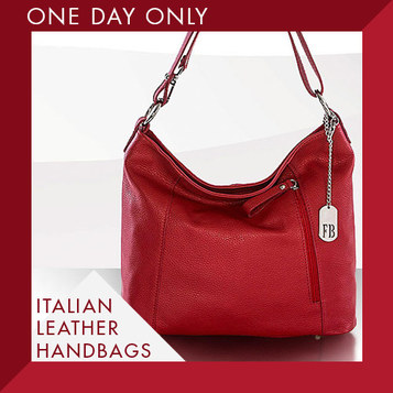 Italian Leather Handbags : Only $57.79