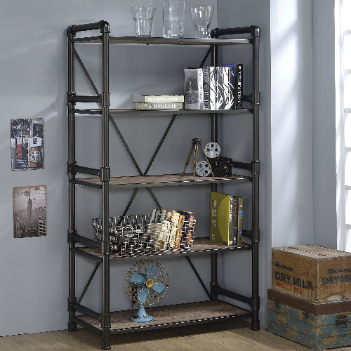 72″ Industrial Style Book Shelf : $295.98 + Free S/H