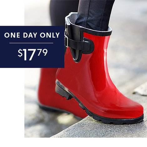 Up to 68% off Women's Nomad Rain Boots : Only $17.79