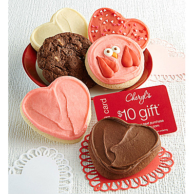 Valentine Cookie Sampler : $12.99 + Free S/H