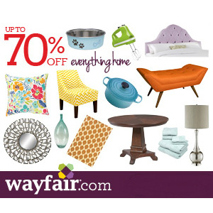 Wayfair : 10% off Coupon