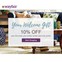 10% off coupon for wayfair.com