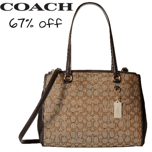 Coach Carryall : $124.99 + Free S/H