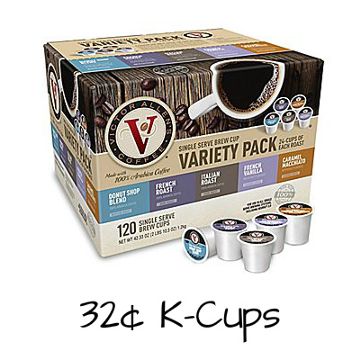 120-CT Victor Allen's Coffee Variety Pack K-Cups : $38.99 + Free S/H