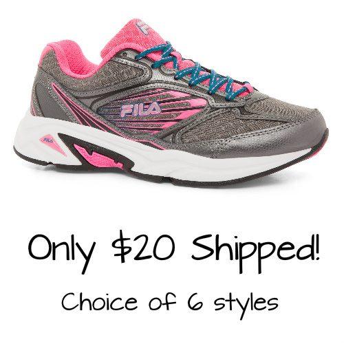 Women's Fila Sneakers : $19.99 + Free S/H