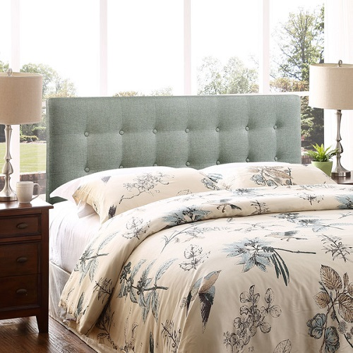 Upholstered Headboard : 48-50% off + Free S/H