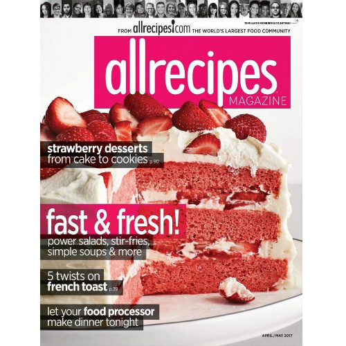 50% off AllRecipes Magazine Subscription : $5