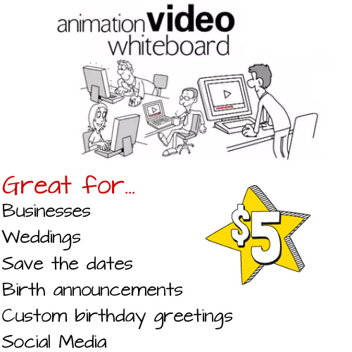 Professional Whiteboard Animation Video : Only $5!