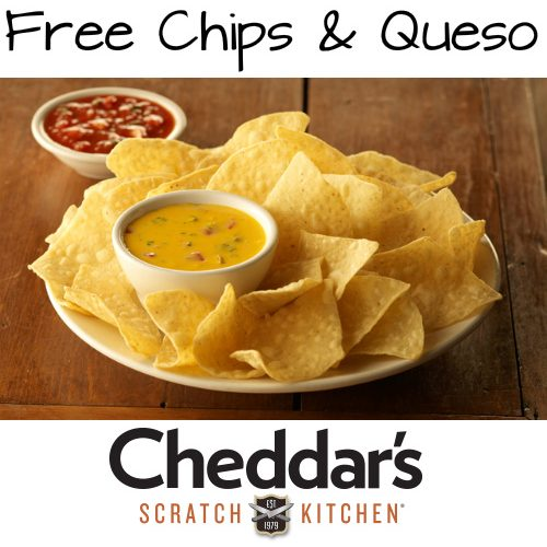 Cheddar's : Free Chips and Queso