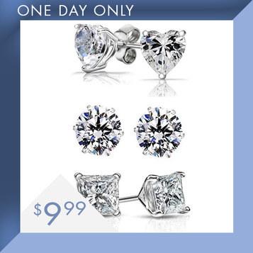Swarovski Earring Sets : Only $9.99