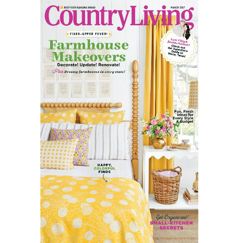 58% off Country Living Magazine Subscription : Only $5