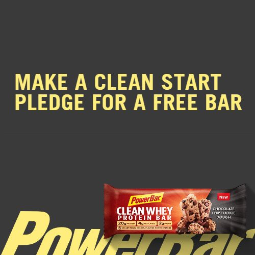 PowerBar : Coupon for a Free Clean Whey Bar