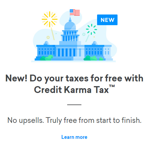 Credit Karma : Free Tax Prep and Filing