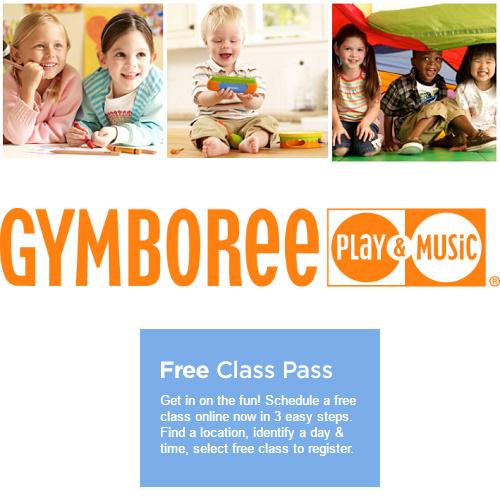 Gymboree : Free Class Pass