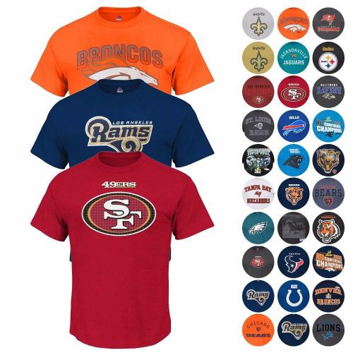 NFL T-Shirts : $12.99 + Free S/H