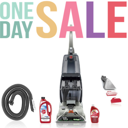 45% off Hoover Carpet Cleaner Pet Bundle : Only $99 + Free S/H