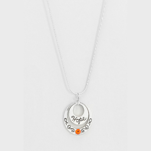 Hope Necklace : $7.98 + Free S/H