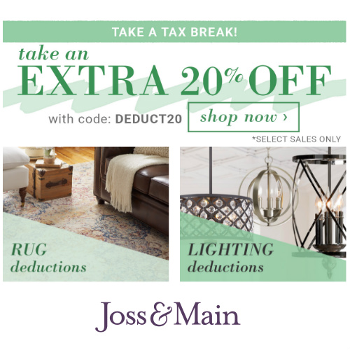 Joss & Main : 20% off Coupon