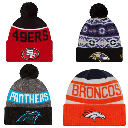 Officially Licensed New Era NFL Beanies : $9.99 + Free S/H