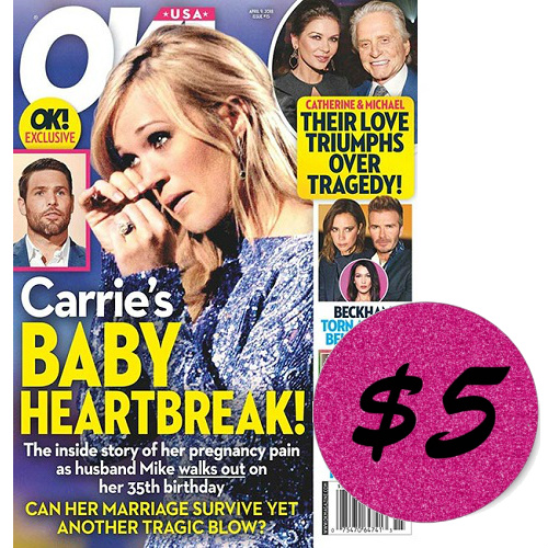 13 Issues of OK! Magazine : Only $5