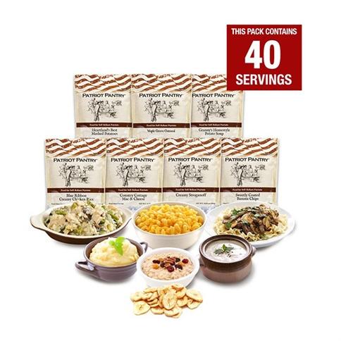 1-Week Emergency Food Supply : Only $29.99