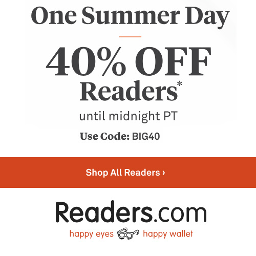 Reading Glasses : Extra 40% off with Coupon
