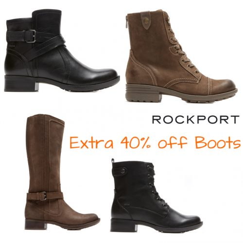 Rockport : Extra 40% off Boots + Free S/H