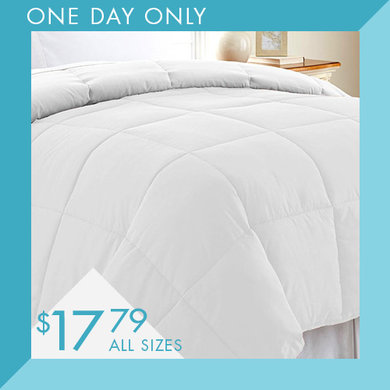 Down Alternative Comforters : $17.79 any size