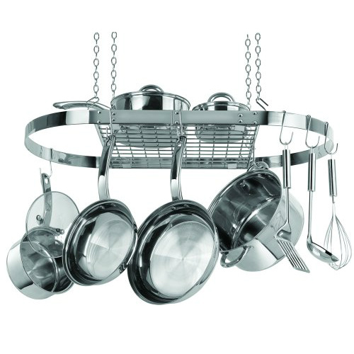Stainless Steel Hanging Pot Rack : $64.99 + Free S/H