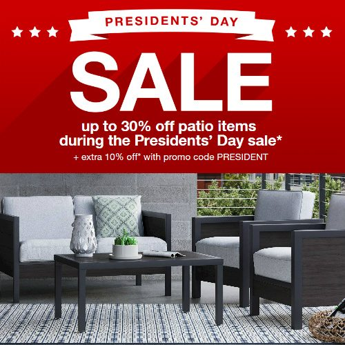 Target Patio Sale : Up to 30% off + 10% off Coupon