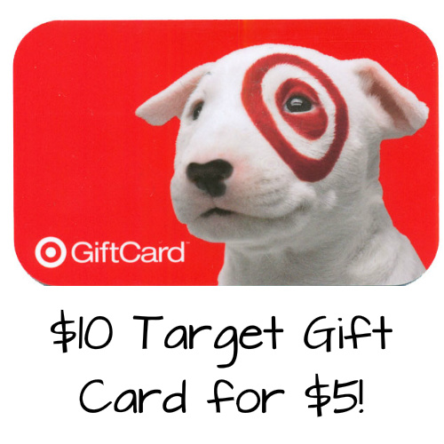 $10 Target Gift Card : Only $5