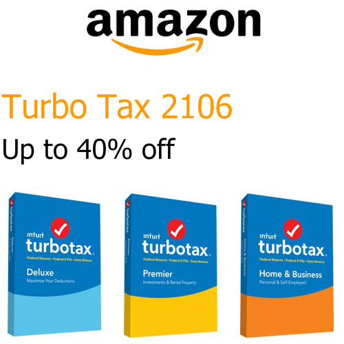 Turbo Tax 2016 : Up to 40% off
