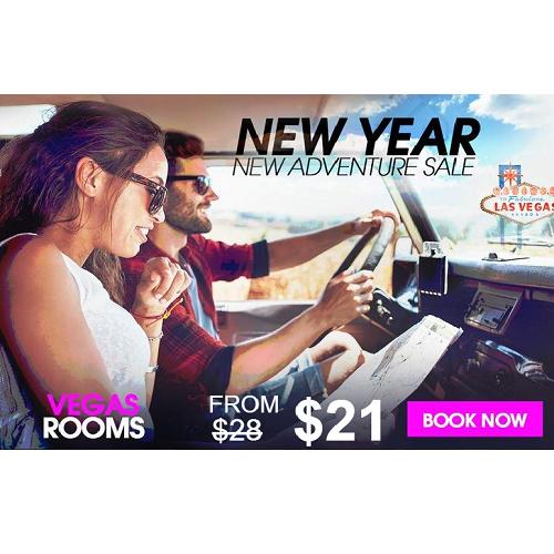 Las Vegas Hotel Rooms : Starting at $21