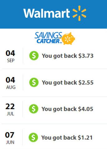 Walmart Savings Catcher Program