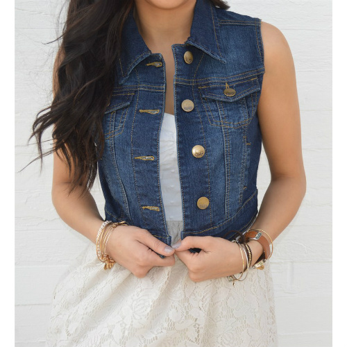 Perfect Denim Vest : Only $16.99