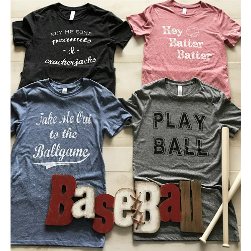 Women's Vintage-Style Baseball Tees : Only $14.99