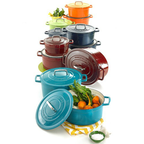 72% off Martha Stewart Enameled Cast Iron 6-QT Casserole : $49.99