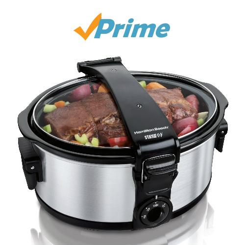 6-QT Portable Slow Cooker : $24.99
