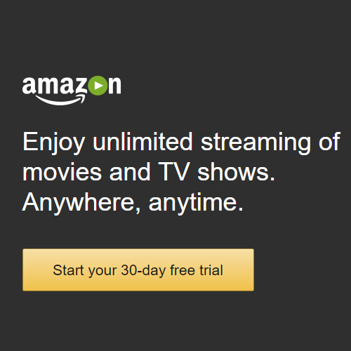 Amazon Prime Video : 30-Day Free Trial
