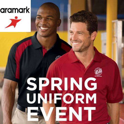 Aramark : $25 off $50 + $5 S/H