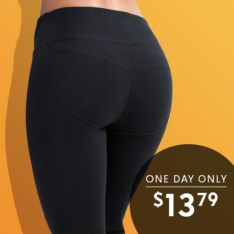 Up to 80% off Booty-Enhancing Activewear : All Styles $13.79