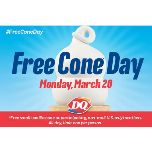 Dairy Queen : Free Cone Day