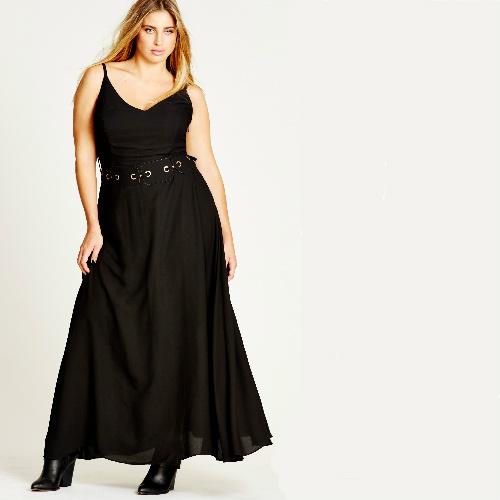 Chiffon Maxi Dress : $15 + Free S/H