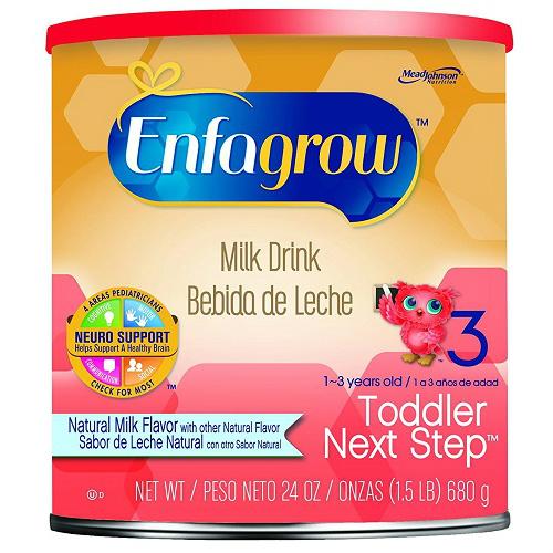 enfamil enfagrow toddler free sample
