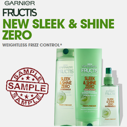 Garneir Sleek & Shine Zero : Free Sample