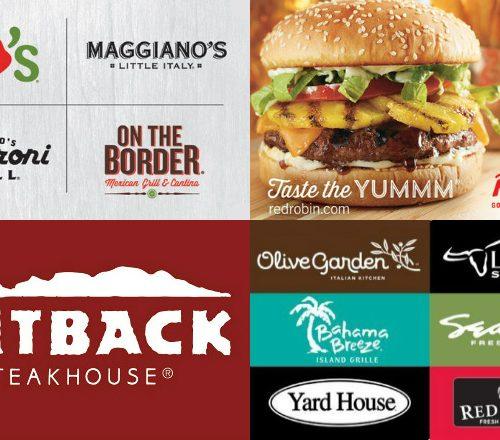 Win a $50 Restaurant Gift Card from MyBargainBuddy